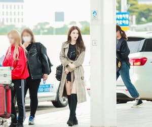 kpop, airport fashion, and style image