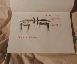 art, depressive, and heart image
