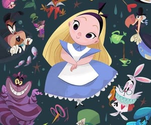 wallpaper, alice, and alice in wonderland image