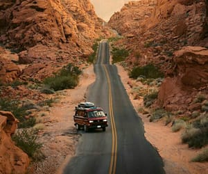 adventure, nature, and road image