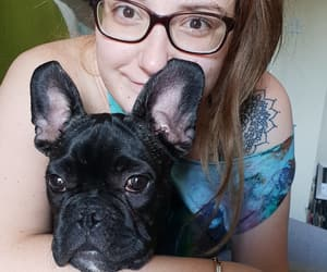 dog, love, and frenchie image