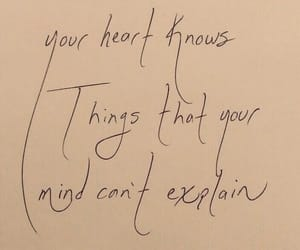 quotes, heart, and words image