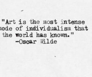 quotes, art, and oscar wilde image