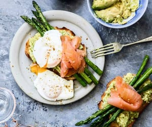 asparagus, breakfast, and brunch image