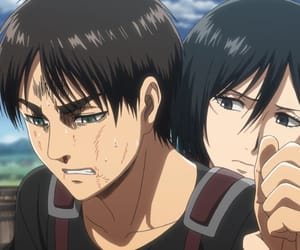 levi, armin, and attack on titan image