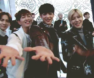 jong, Onew, and Taemin image