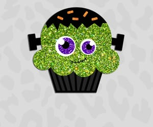autumn, cupcake, and green image