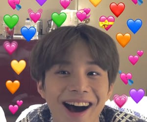 happy, heart, and jungwoo image