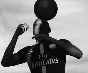 football, psg, and kylian mbappe image