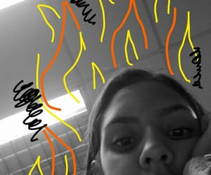 fire, room, and clases image