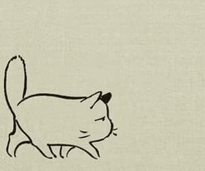 animation, art, and cat image