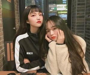 korean, friends, and best friends image