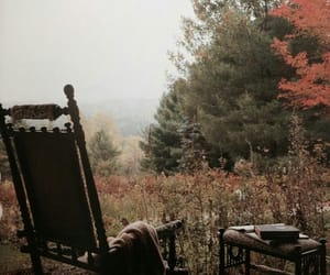 autumn, nature, and book image