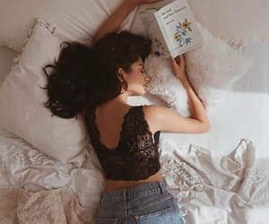 bed, fashion, and vintage image