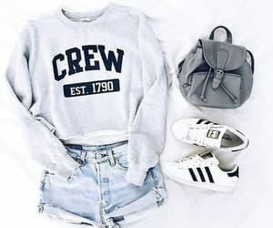 adidas, bag, and girl image