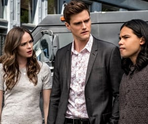 danielle panabaker, hartley sawyer, and killer frost image