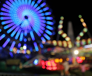 photography, carnival, and light image