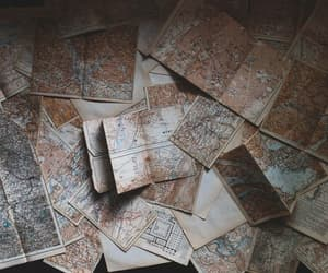 map, adventure, and travel image