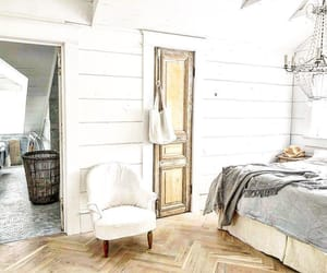 bedroom, decor, and farmhouse image