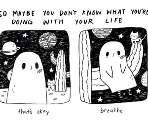 breathe, ghost, and gif image