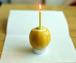analogue, candle, and citrus image