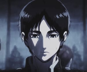 anime, sad, and eren jeager image