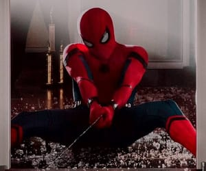 background, homecoming, and Marvel image