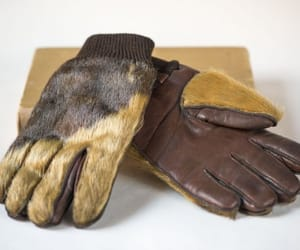 etsy, brown gloves, and unisex gloves image