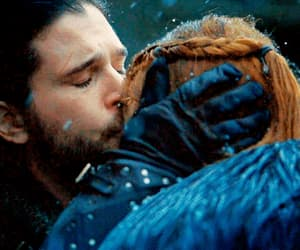 couple, gif, and game of thrones image