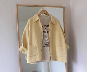 aesthetic, white, and yellow image