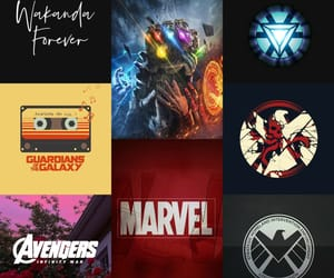aesthetic, Avengers, and shield image