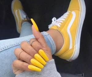 fashion, vans, and nails image