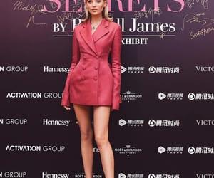 elsa hosk, Russell James, and Victoria's Secret image
