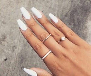 beauty, nails, and hand image