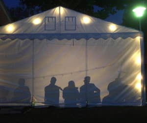 band, concert, and tent image