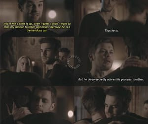 The Originals, rebekah mikaelson, and kol mikaelson image