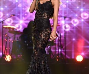 black, dress, and performance image
