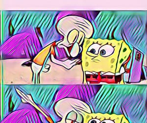 colorful, spongebob, and funny image