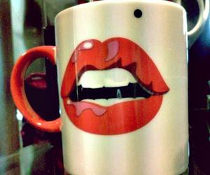 cup and Marilyn Monroe image