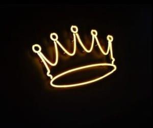 black, corona, and neon image
