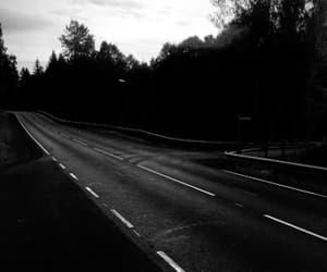 black, norway, and dark image