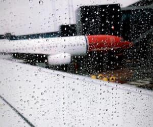 norway, rain, and vacation image