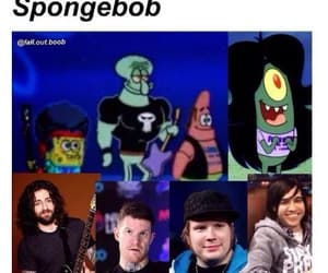 fall out boy, meme, and spongebob image