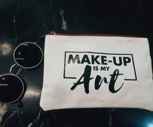 art, cosmetic, and glasses image