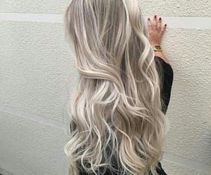 hairgoals, balayage, and blonde image