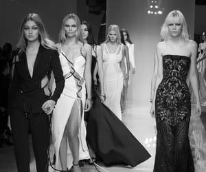 Atelier Versace, Versace, and Lara Stone image