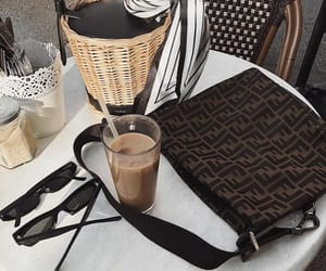coffee, essentials, and fashion image