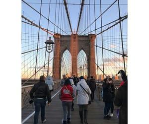 bridge, brooklyn bridge, and new york city image