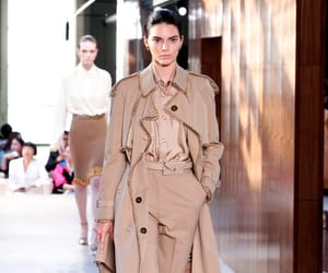 Burberry, model, and spring summer image