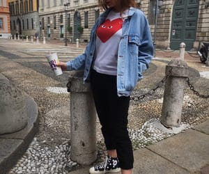 cdg, italy, and clothes image